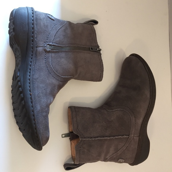 5329378b718 UGG Ankle Boots Booties Gray Women's 7 US EUC